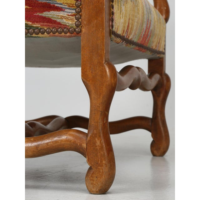 French Os De Mouton Style Armchairs - A Pair For Sale In Chicago - Image 6 of 11