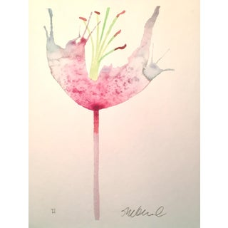 """Soft Pink Petals"" Watercolor Painting"