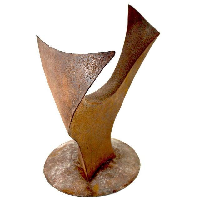 Metal Brutalist Sculpture by Noted Artist Jack Hemenway For Sale - Image 7 of 13