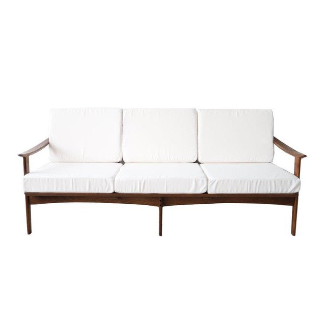Incredible Vintage Mid Century Modern White Daybed Sofa Alphanode Cool Chair Designs And Ideas Alphanodeonline