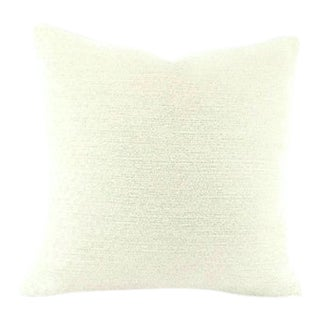 Beacon Hill Arches White Chenille Pillow Cover For Sale