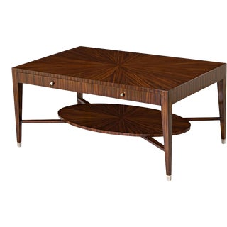 Scarborough House Rosewood Midmod Cocktail Table For Sale