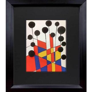 1971 Alexander Calder Original Limited Edition Lithograph For Sale
