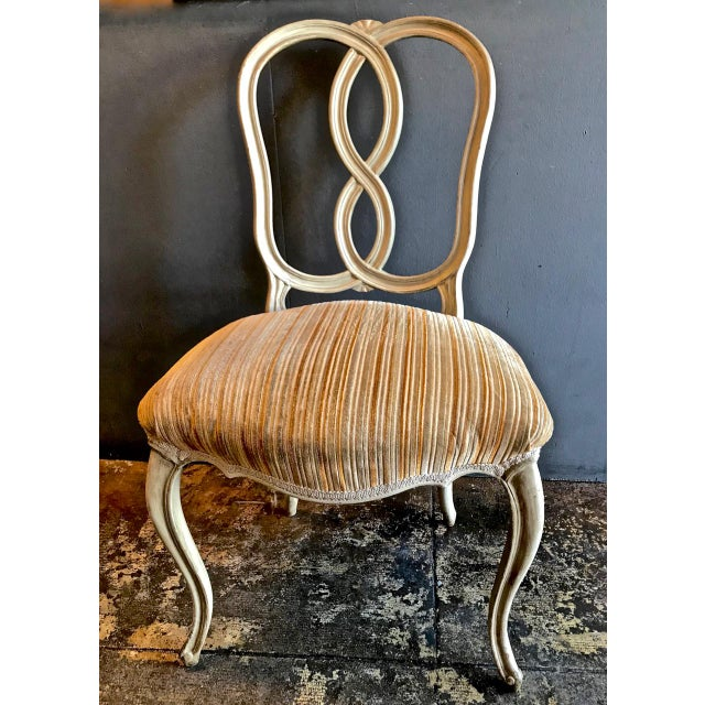 Set of 8 Italian-Ventian Style Ribbon Back Dining Chairs For Sale In Los Angeles - Image 6 of 12