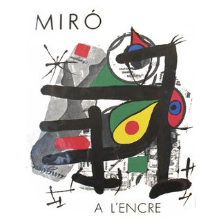Joan Miro a L'Encre, Book, Edition: 5000, 1972 For Sale