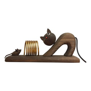 Witco Style Cat and Mouse Letter Holder