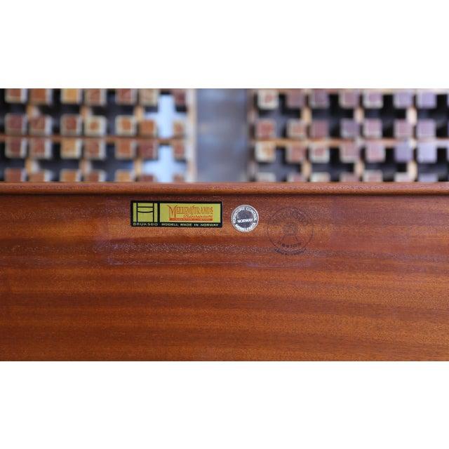 """Teak """"Krobo'' Bench by Torbjørn Afdal for Bruksbo For Sale - Image 10 of 11"""