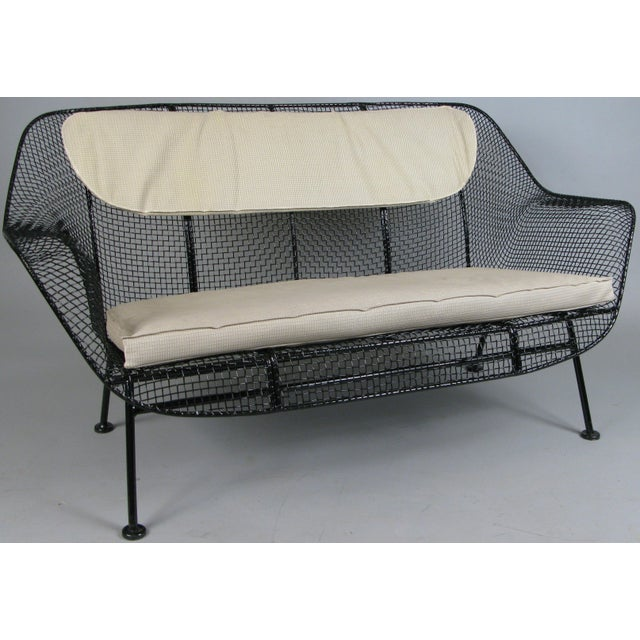 Classic 1950s 'Sculptura' Settee by Russell Woodard For Sale In New York - Image 6 of 7