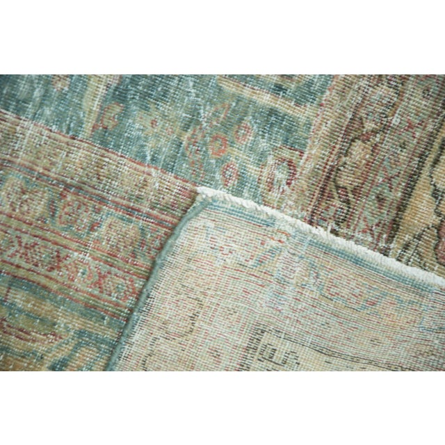 "Antique Mahal Square Carpet - 9'10"" x 10'9"" For Sale In New York - Image 6 of 10"