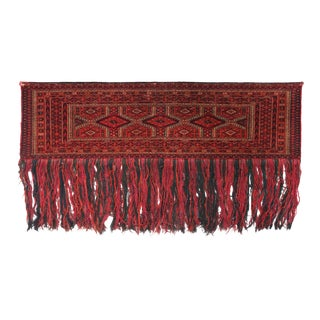 Early 20th Century Antique Turkish Juwal - 1′3″ × 4′ For Sale