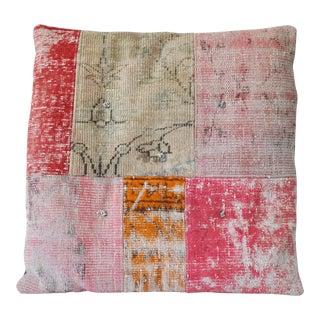 Hand-Made Turkish Patchwork Floor Pillow