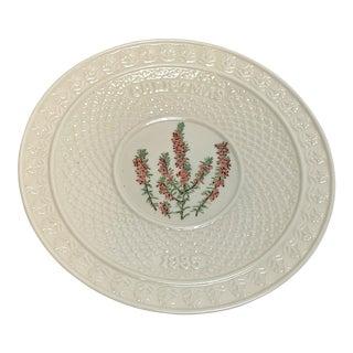 Vintage Belleek Christmas Plate For Sale