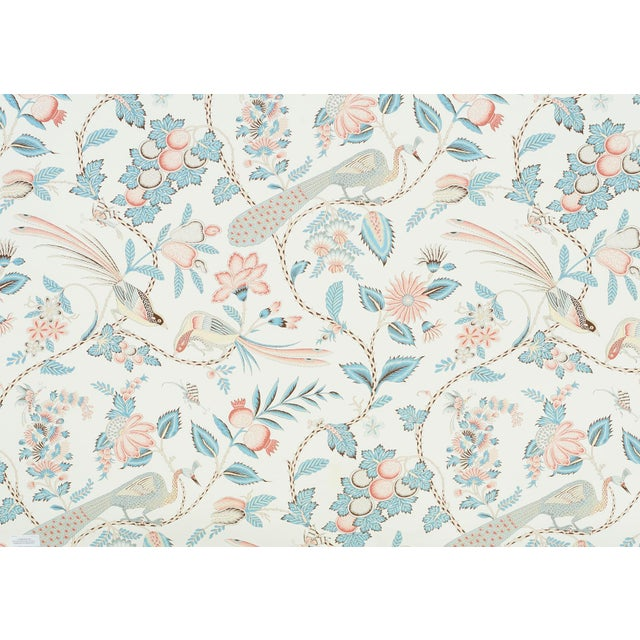 A lush, lively interpretation of a classic French design, with a captivating allover pattern of plumes, blossoms and...