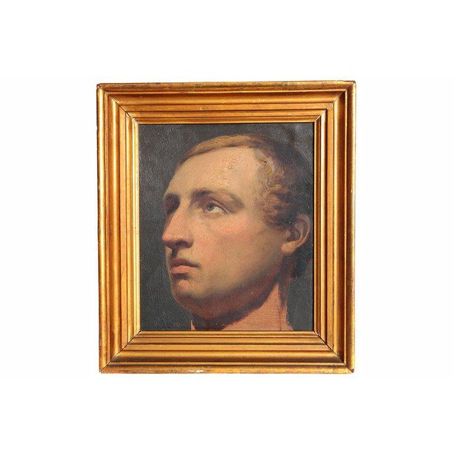 Portrait of a Young Man by Willem Hendrik Schmidt (1809-1849) Dutch For Sale - Image 13 of 13