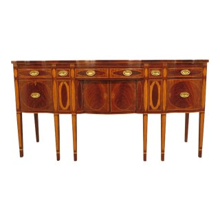 1990s Federal Kindel Winterthur Collection New York Mahogany Sideboard For Sale