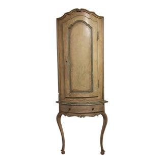 18th Century Encoignure Corner Cabinet Cupboard