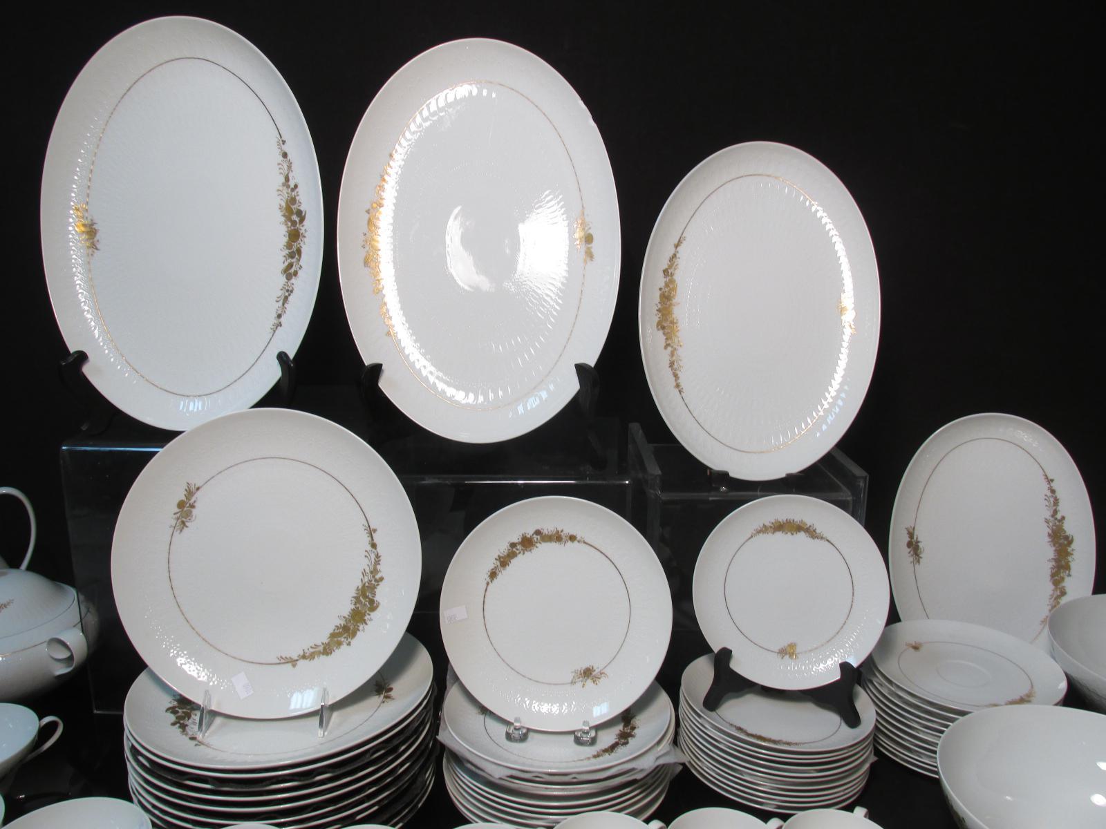 \ Romance Medley\  Bjorn Wiinblad for Rosenthal Dinnerware - Image 5 of 11. \   sc 1 st  Chairish & Romance Medley\