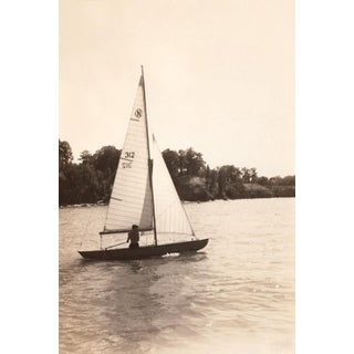 """Serene Sailing"" Sailboat Vintage Photo Print For Sale"