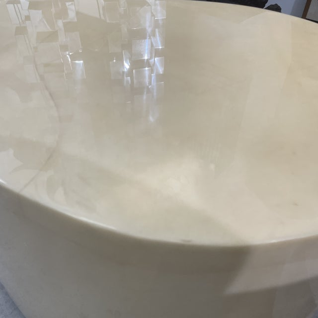 1970s Modern Goatskin Coffee Table For Sale - Image 4 of 10