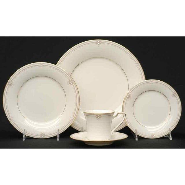Noritake Satin Gown Dinnerware - Service for 12 For Sale - Image 13 of 13