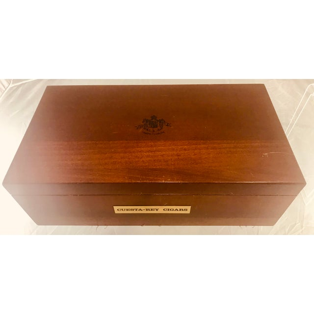 1980s Traditional Cuesta-Rey Cigar Humidor For Sale - Image 10 of 12