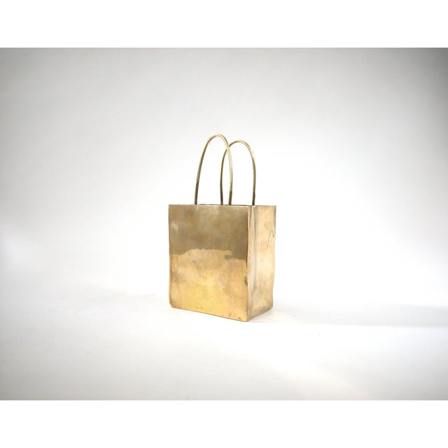 Brass Shopping Bag - Image 2 of 6