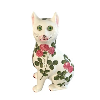 Plichta Pottery Nekola Pinxt Cat London England For Sale