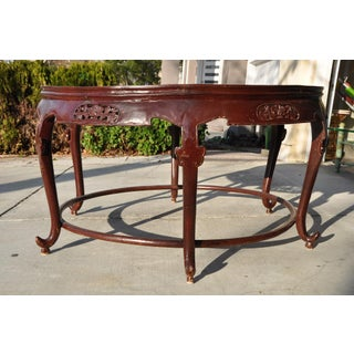 Balinese Ramayana Carving Mango Wood Dining or Center Table Preview