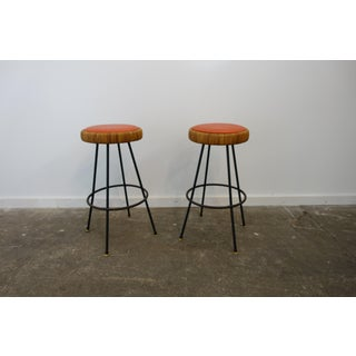 Mid-Century Modern Tropicana Swivel Barstools - a Pair Preview
