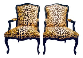 Image of Study Bergere Chairs