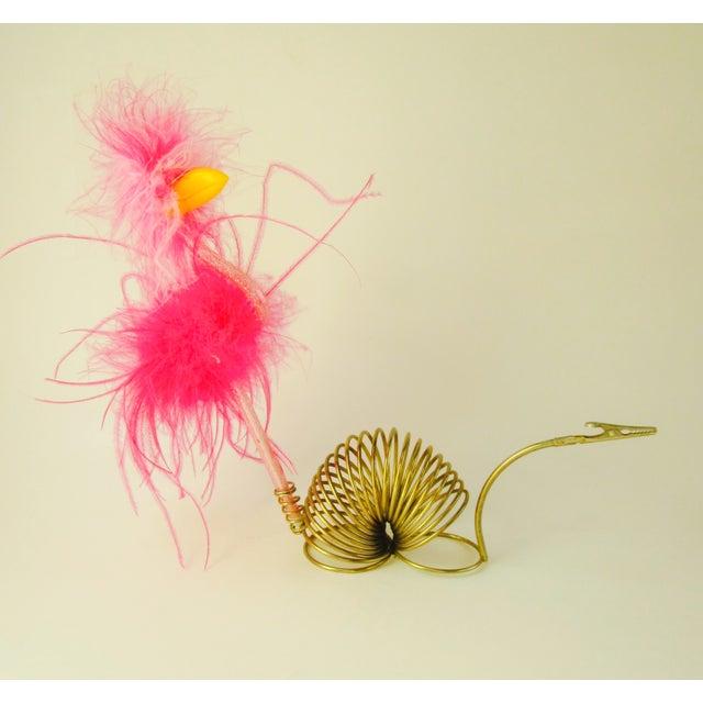 Brass Snail Slinky Memo Holder Paper Clip - Image 4 of 6