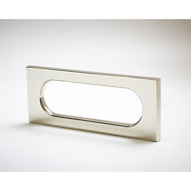 Nest Studio Collection Mod-04 Polished Nickel Handle For Sale - Image 4 of 5