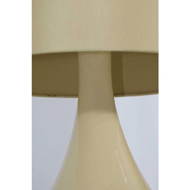 Contemporary Ceramic Lamps - A Pair For Sale - Image 3 of 7