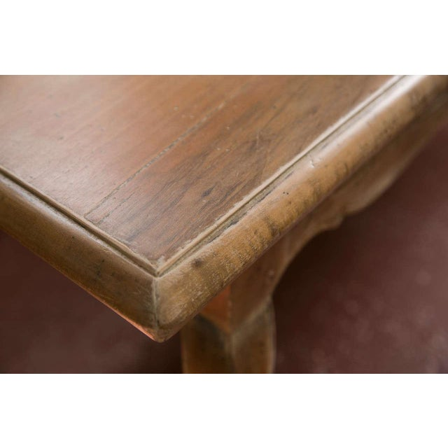 French Provincial Style Distressed Dining Table - Image 2 of 8