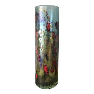 Artisan Hand Blown Vase