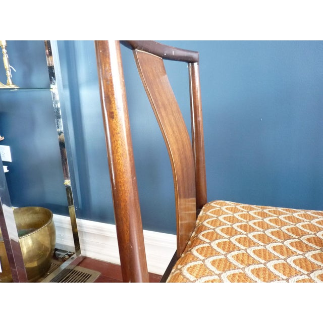 Asian Inspired Dining Chairs - A Pair - Image 6 of 11