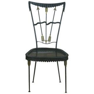 Tomaso Buzzi Surrealist Arrow Motif Chair For Sale