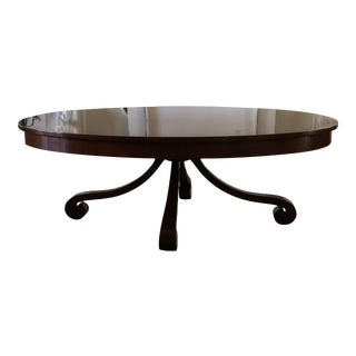 Traditional Nancy Corzine Cocktail Table For Sale