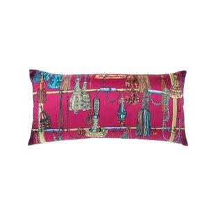 """Passementerie"" Hermès Silk Scarf Pillow For Sale"