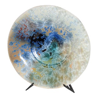 Porcelain Plate by Bill Campbell Studios