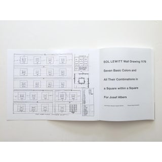 "Sol LeWitt "" Wall Drawing 1176 "" Rare 1st Edition Josef Albers Museum Exhibition Collector's Art Book Preview"