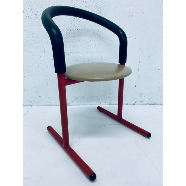 Postmodern Amisco Chair or Stool With Foam Back For Sale - Image 11 of 11