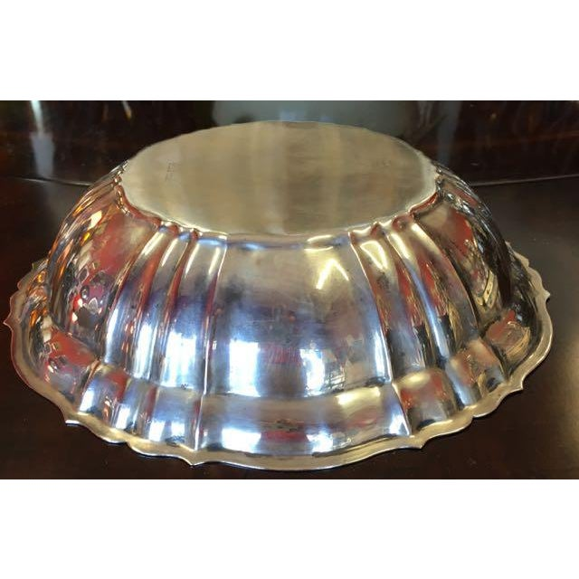 1960s Gorham Chippendale Sterling Silver Bowl For Sale - Image 5 of 8