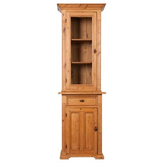 Dutch 19th Century Pine Cabinet or Bookcase For Sale