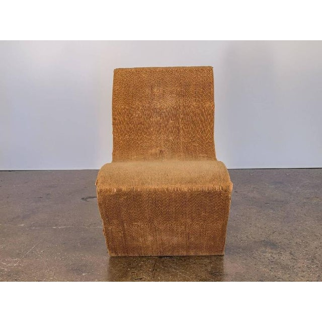 Vintage Corrugated Cardboard Chair For Sale - Image 9 of 9