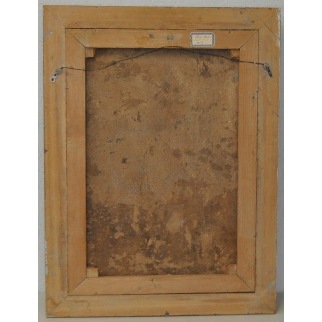 19th Century Italian School Oil Painting For Sale - Image 10 of 10