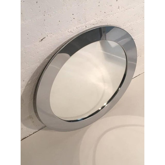 Artisan House 1970s Chrome Mirror by Curtis Jeré for Artisan House For Sale - Image 4 of 6