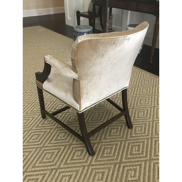 Rose Tarlow Melrose House Chippendale Dining Arm Chairs - Set of 6 For Sale - Image 10 of 13