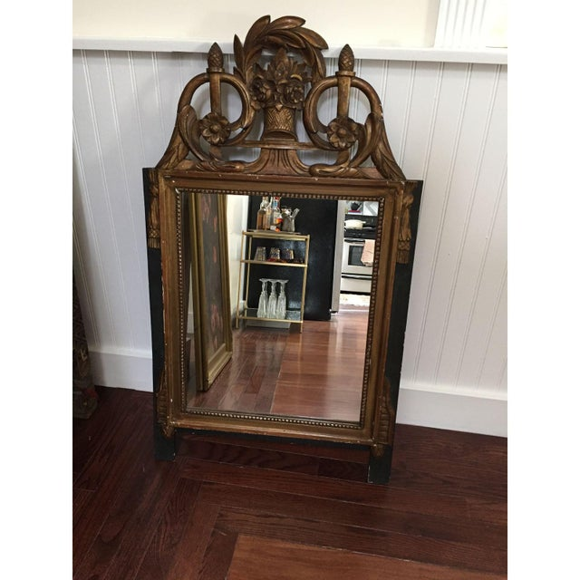 Vintage French Neoclassical Gold Mirror - Image 2 of 6