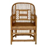 Image of Mid-Century Bamboo Side Chair For Sale